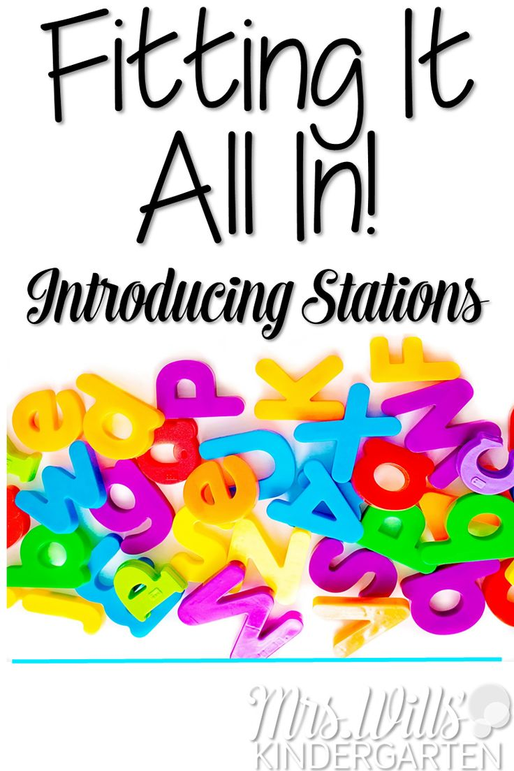 How do I start stations in kindergarten? Let me show you. Sanity savers and tips…