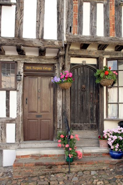 Dick Turpin's Cottage, Thaxted, Essex, UK Dick Turpin was a notorious highwayman