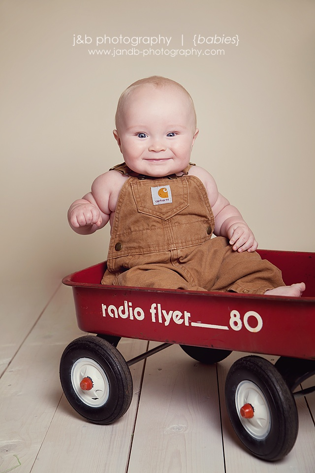 baby boy session picture idea