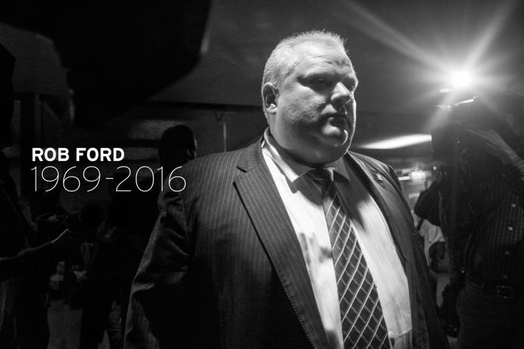 Former Toronto Mayor Rob Ford Dead at 46