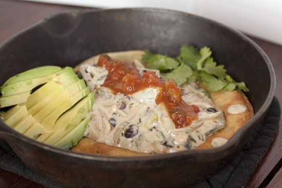 ... soup with poblanos oregano and cotija cheese aka sopa de jitomate y