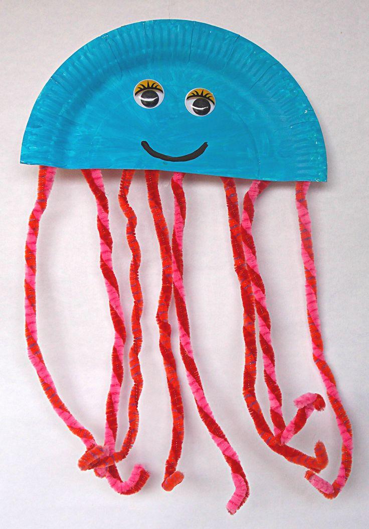 Tintenfisch aus Pappteller                                                                                                                                                                                 Mehr