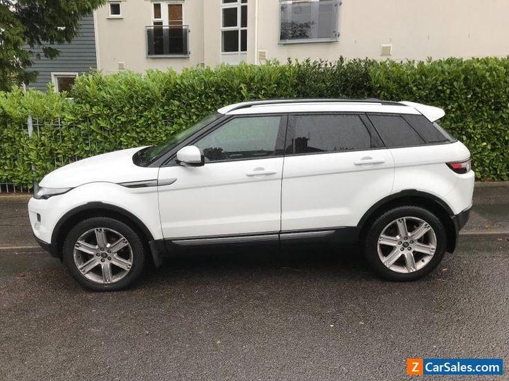 Range Rover Evoque Pure ED4 2013 Model #rover #rangeroverevoque #forsale #unitedkingdom