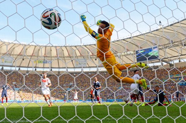Germany 1 - 0 France in #FIFAWorldCup 2014