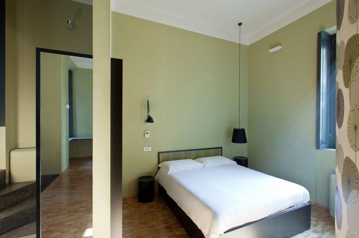 Concoct Apartments Milano - HI LITE Next Hotel #design #lighting #design #fixtures #Artemide Tolomeo, Delta Light Luci Italia Zero