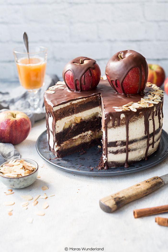 Apfel Schokoladentorte Rezept Kuchen Und Torten Rezepte Schokoladen Torte Und Kuchen Und Torten