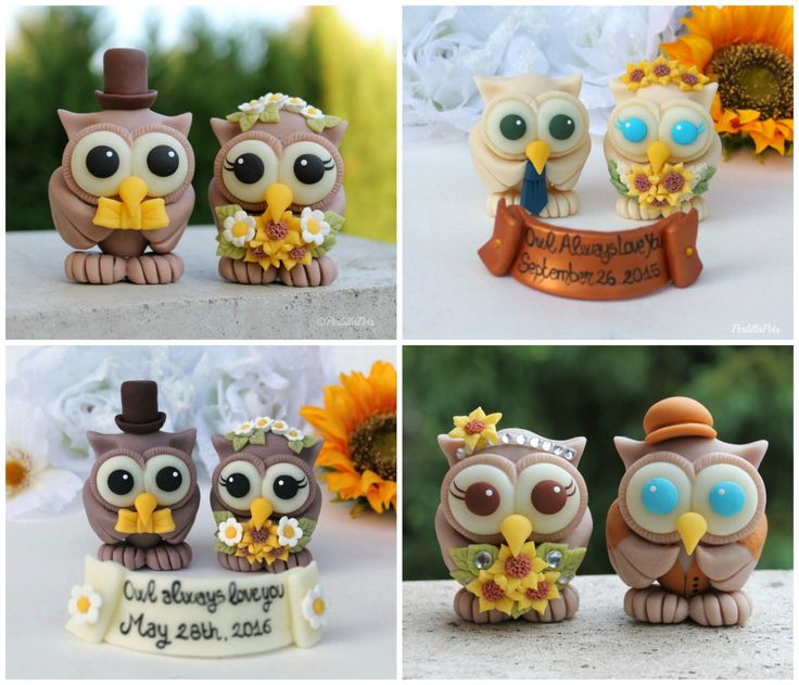 Very lovely owl cake topper for a rustic, country wedding! A true artwork, totally customizable... https://www.etsy.com/listing/90671433/rustic-owl-wedding-cake-topper-love-bird