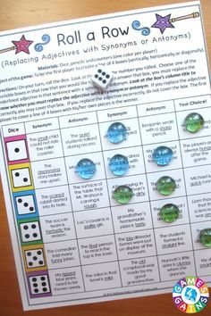 Looking for fun ways to practice adjectives? This Adjectives Games packet contains 12 fun and engaging printable board games to help students to practice common adjectives, proper adjectives, comparative adjectives, superlative adjectives, and ordering adjectives!