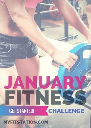 2015 Fit Babe - January Fitness Challenge ! #fitness #fitnesschallenge #workout