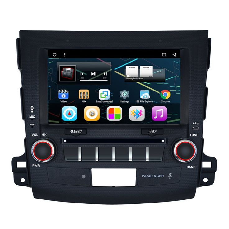 "8"" Android Car Multimedia Stereo GPS Navigation DVD Radio Audio Head Unit Mitsubishi Outlander 2006 2007 2008 2009 2010 2011"