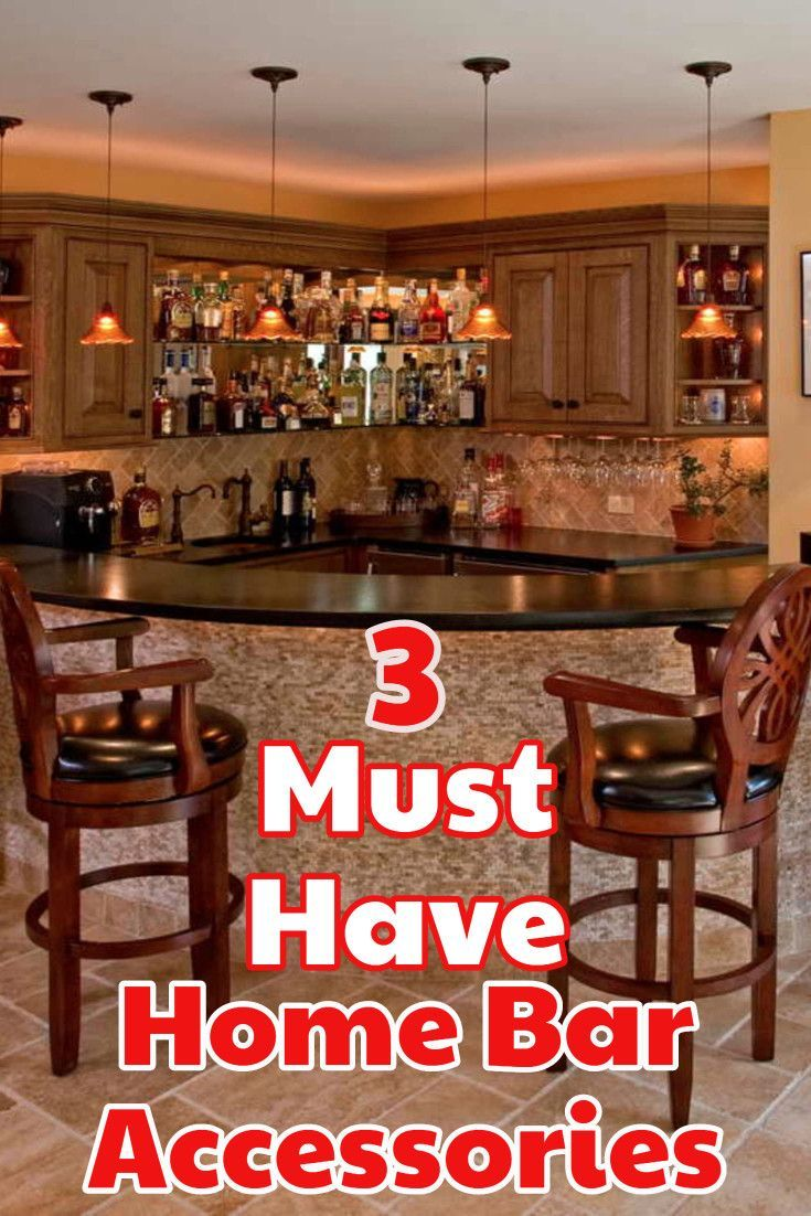 diy home bar the 3 accessories you must have for your diy basement rh pinterest co uk For Home Bar Sets Basement Bar Lighting