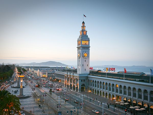 """""""Stroll along the Embarcadero and take a visit to the Ferry Terminal Marketplace."""" -Thomas Keller"""
