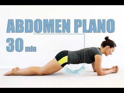 Cardio para principiantes 5 - ABDOMEN PLANO en 30 min - YouTube