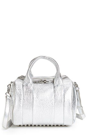 Alexander Wang 'Rockie - Rhodium' Leather Crossbody