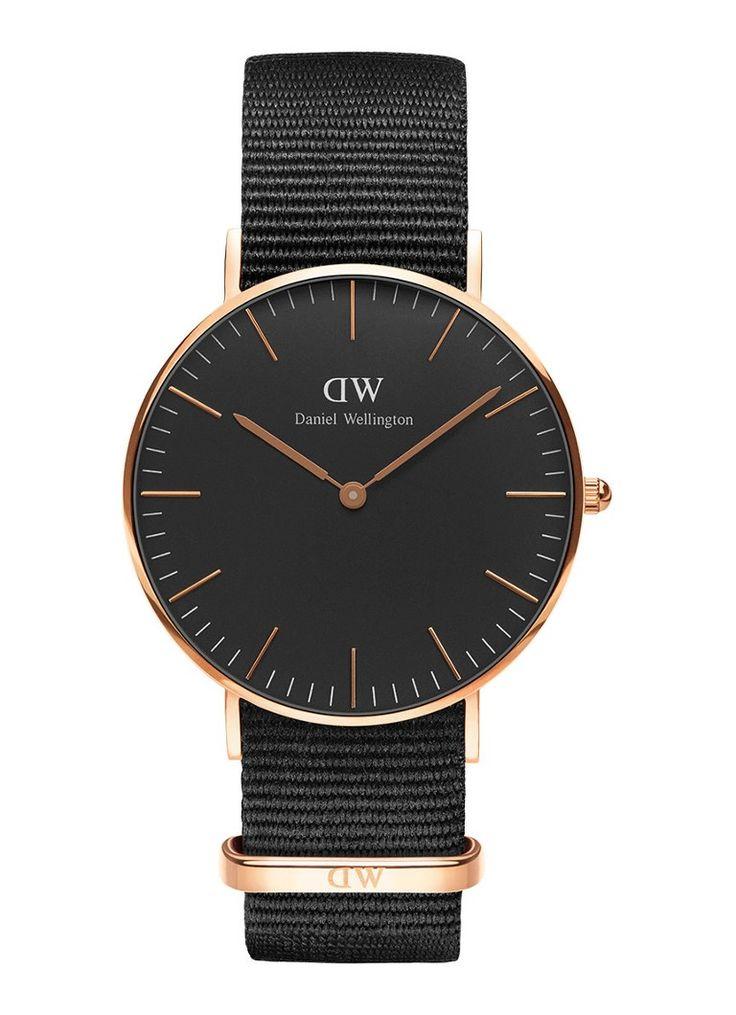 Daniel Wellington Horloge Black Cornwall DW00100150 • de Bijenkorf