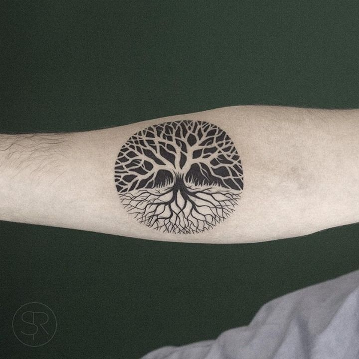 2f1f0ccd9 60 Tree Tattoos That Can Paint Your Roots | Tattoos | Tree tattoo designs, Life  tattoos, Tattoo illustration