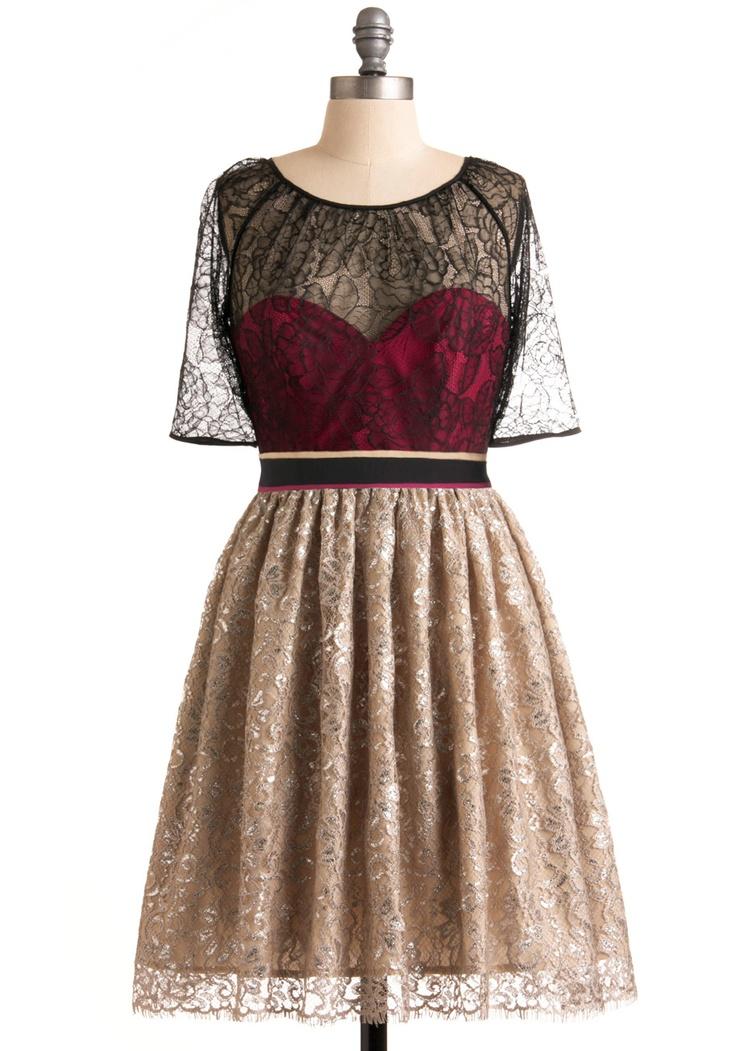raspberry champagne cocktail dress.