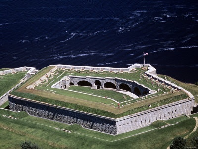 Fort Knox, Bucksport Maine .... Most of our schools take field trips there , so much fun there .