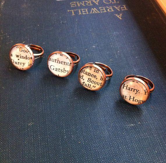 Books & rings!?