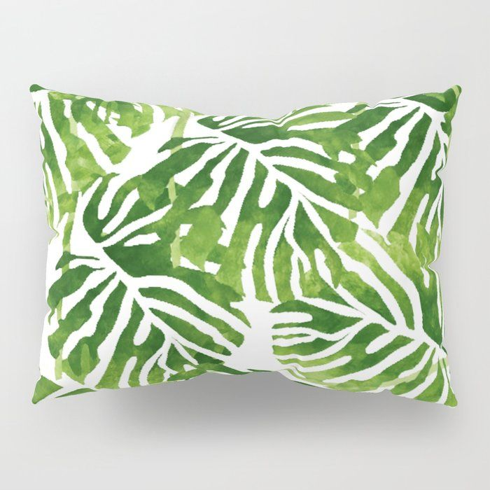Peppy Moss Green Pillow Shams By The Wallpaper Files Comes In A Set Of Two Available In Standard Or King Sizes Green Pillows Pillow Shams Pillows