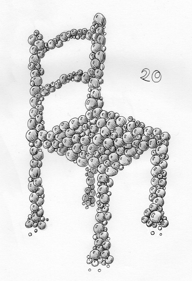 20 - Bubble Chair by Dz-Drawing