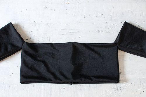 How to make an off the shoulder top (3 rectangles! :) )  www.apairandasparediy.com