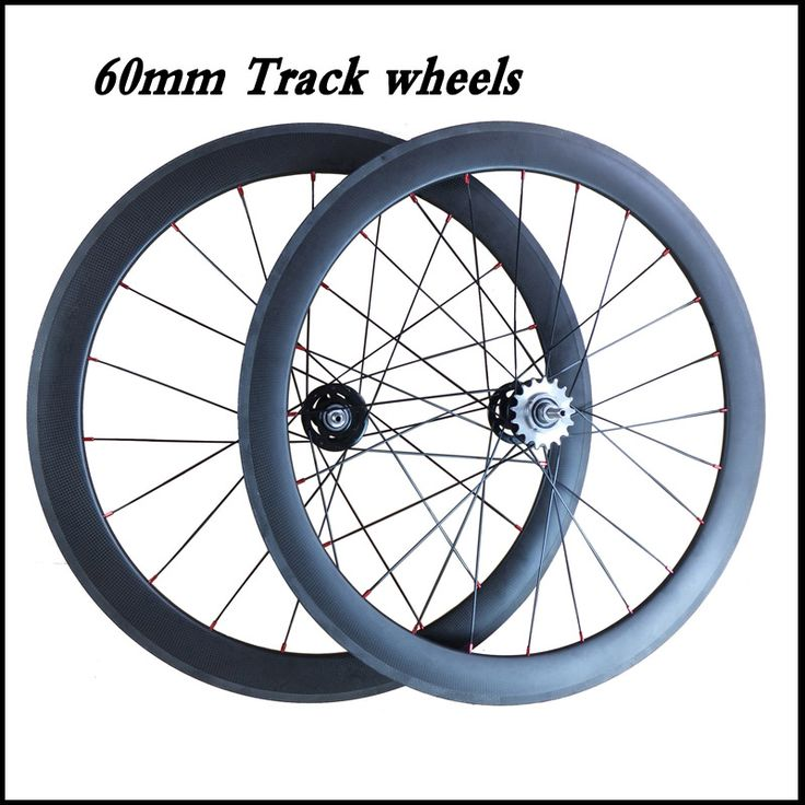 track bike wheels 60mm clincher carbon track wheelset fixed gear single speed wheelset 23mm width 700c