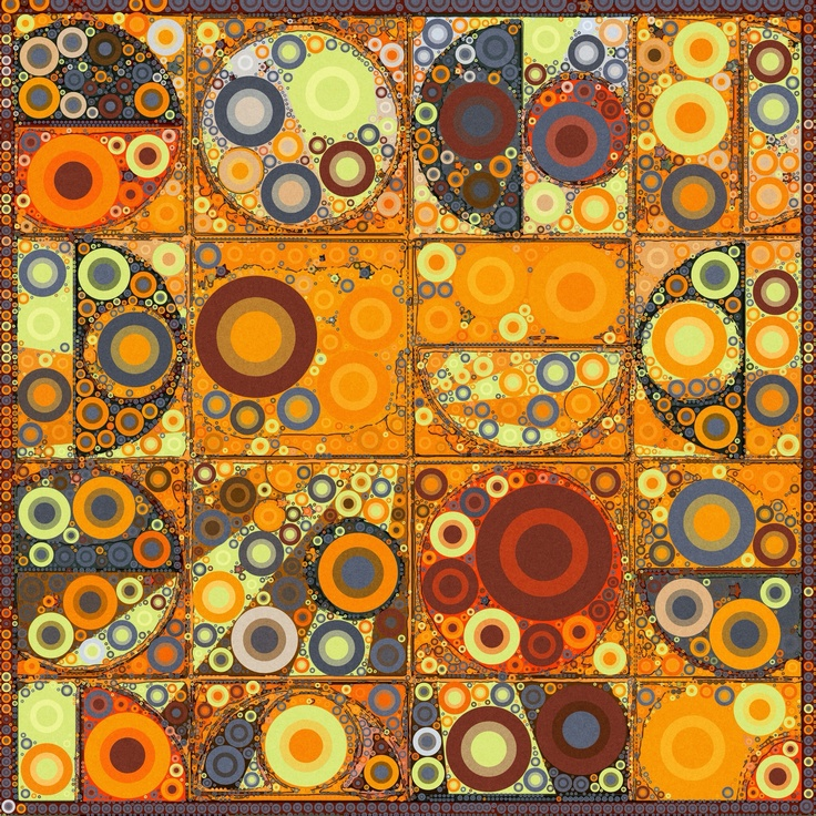 Percolated pattern.