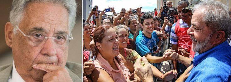 """""""FHC tornou-se a triste caricatura desse fracasso da velha elite brasileira. De teórico da transição conservadora e de presidente de uma nota só – a estabilidade monetária -, de social democrata a um reles neoliberal -, tornou-se um golpista sem ideias e sem apoio popular"""", diz o colunista Emir Sader; """"A tragédia da trajetória de FHC resume, de forma exemplar, o fracasso da elite tradicional brasileira diante de um pais que teve revelado todo o seu potencial com o governo Lula e que busca…"""
