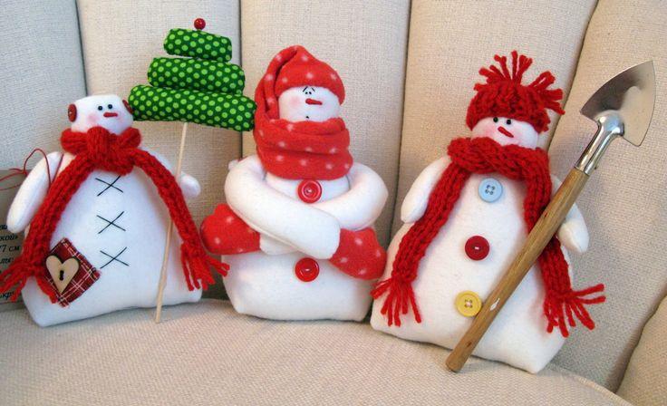 Tilda snowmans