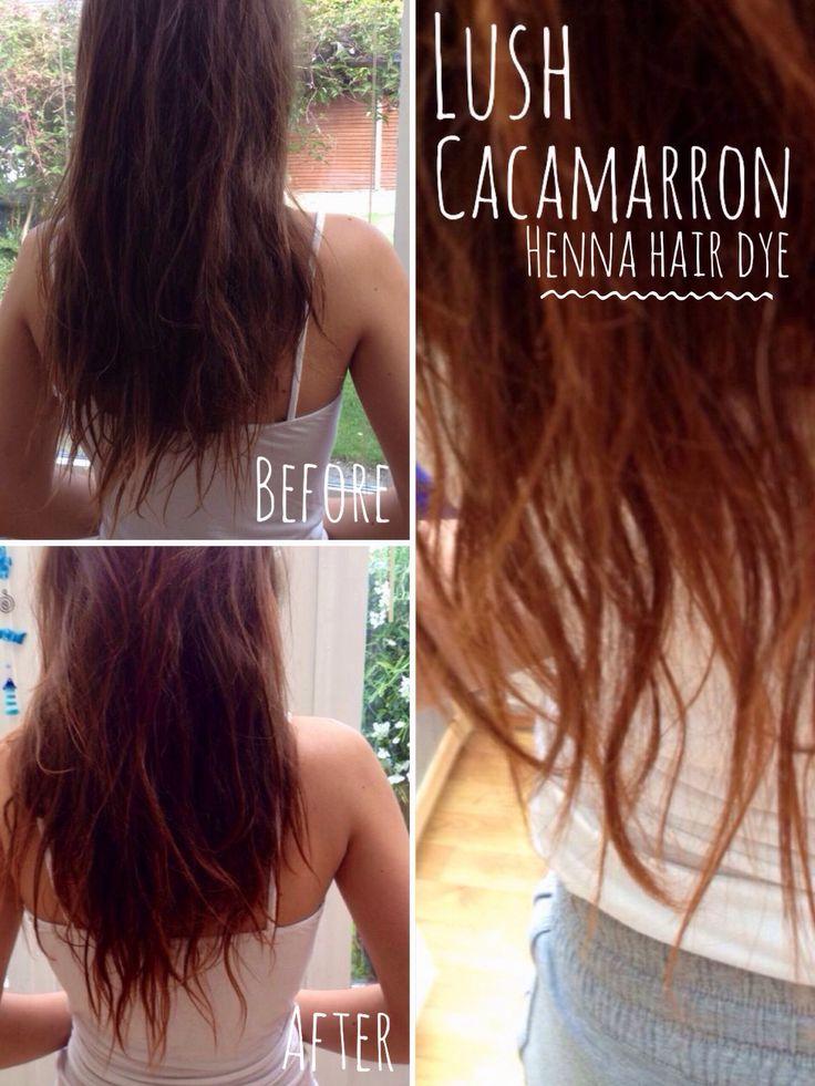 Lush Henna Hair Review Beauty Lucy Anna Art Fashion