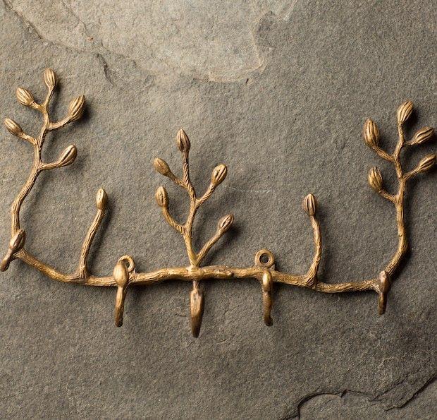 Key Hook Holder | Key Rack | Nature Inspired Decor |  Tree Key Hooks | Wall Mounted Key Holder