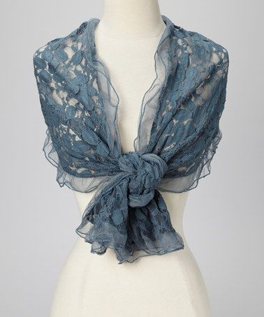 I like the see-through pattern, and wonder what it would look best over. A plain blue top?