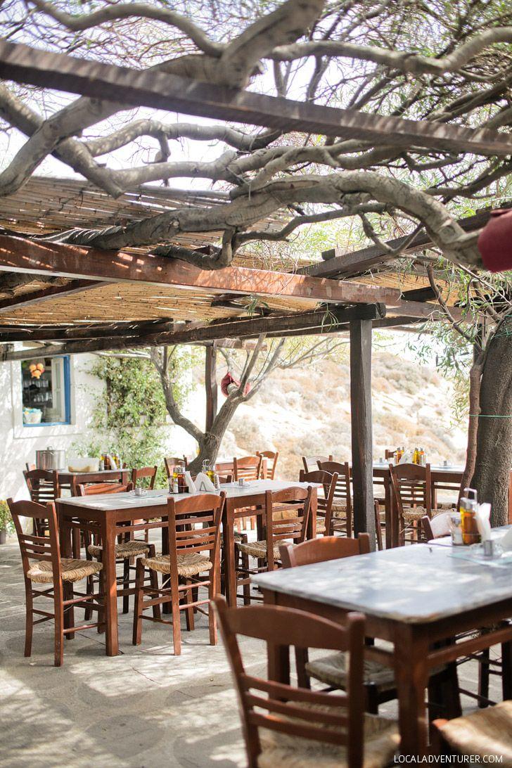 Kiki's Tavern - Best Meal in Mykonos Greece.