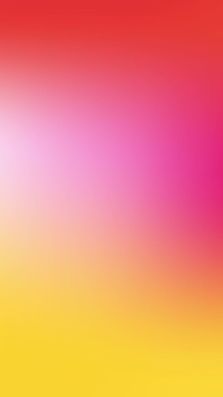 Gradient Yellow And Pink Colors Abstract 720x1280 Wallpaper