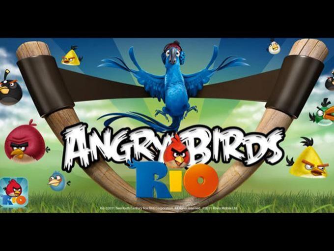 In Angry Birds Rio, gli uccelli arrabbiati vengono rapiti e