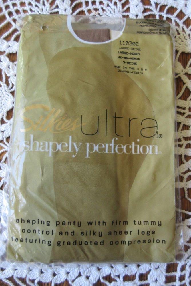 94209b8aa14b4 Silkies Ultra Shapely Perfection Silky Sheer Legs Large Beige Nylon Spandex  #fashion #clothing #shoes #accessories #womensclothing #hosierysocks (ebay  link)