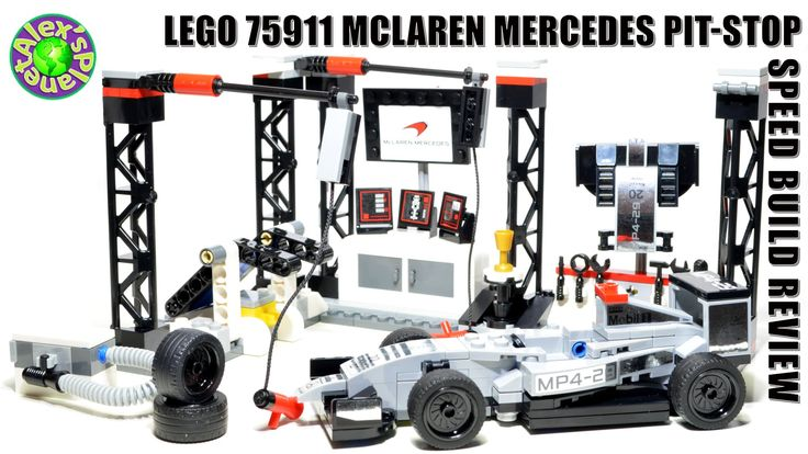Lego Speed Champions 75911 McLaren Mercedes Pit-stop Review, Unboxing & ...