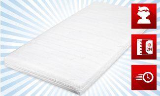 Kindermatratze Ronja von Matratzenheld online  gute Matratzen kaufen bei matratzendiscount.de #Matratze #KinderMatratze