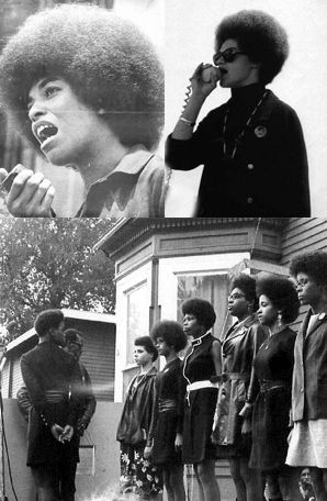 The BPP sought to end racism & sexism. Black Panthers were brothers and sisters, who fought alongside each other & it was an egalitarian subculture; much more so than mainstream America in the 60′s.  In the subculture of the Black Panther Party and Black Liberation Movement during the era of the Civil Rights, the women had stature, presence and perhaps, almost as much power as the men did in this movement. Black Panther women's voices were heard, encouraged, and they said what they wanted.