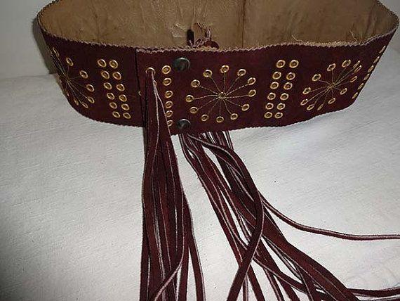 cintura da donna fatta a mano made in italy in di Leschosesdemanu
