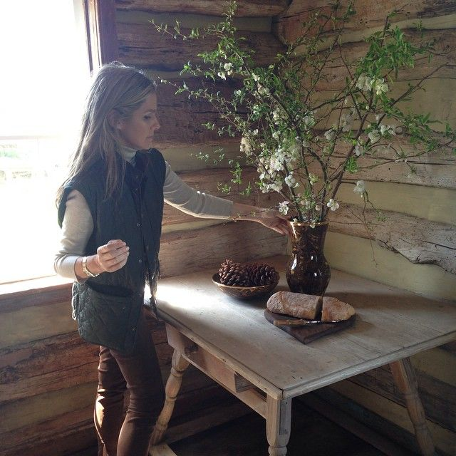 Shooting our Fall home collection. ... aerin lauder instagram