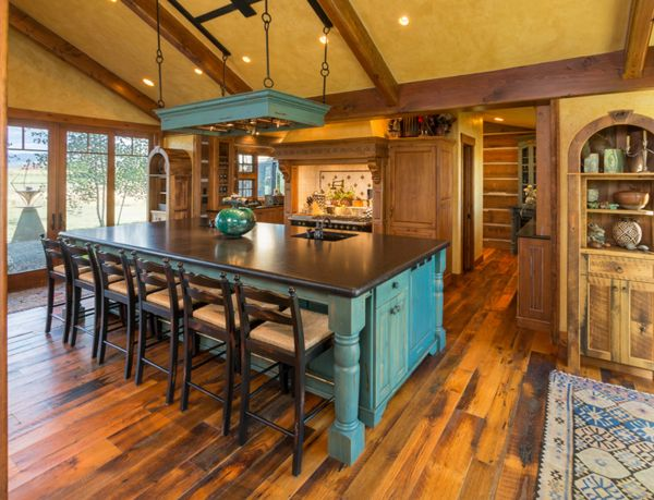 A rustic kitchen in Denver, CO.