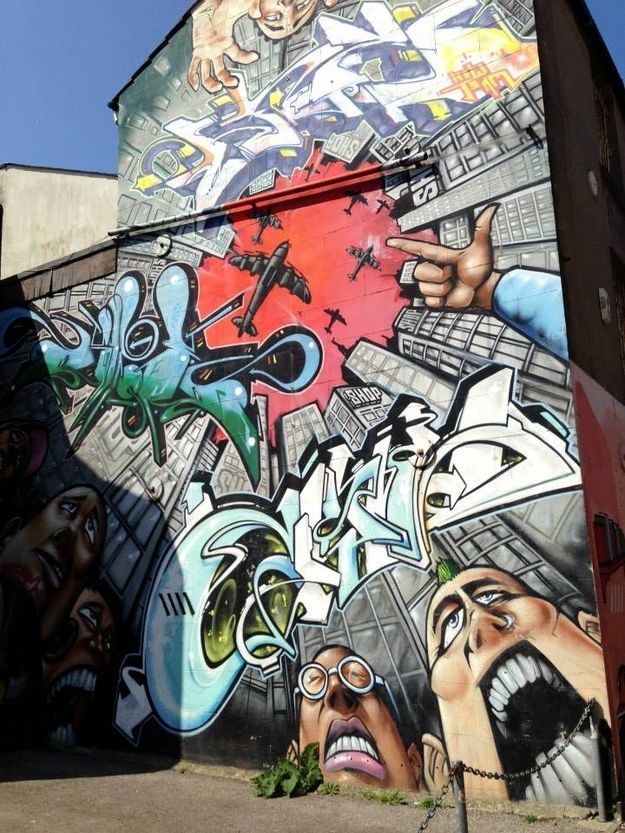 While you're there marvel at the graffiti in the North Laine. | 51 Things You Simply Must Do In Brighton