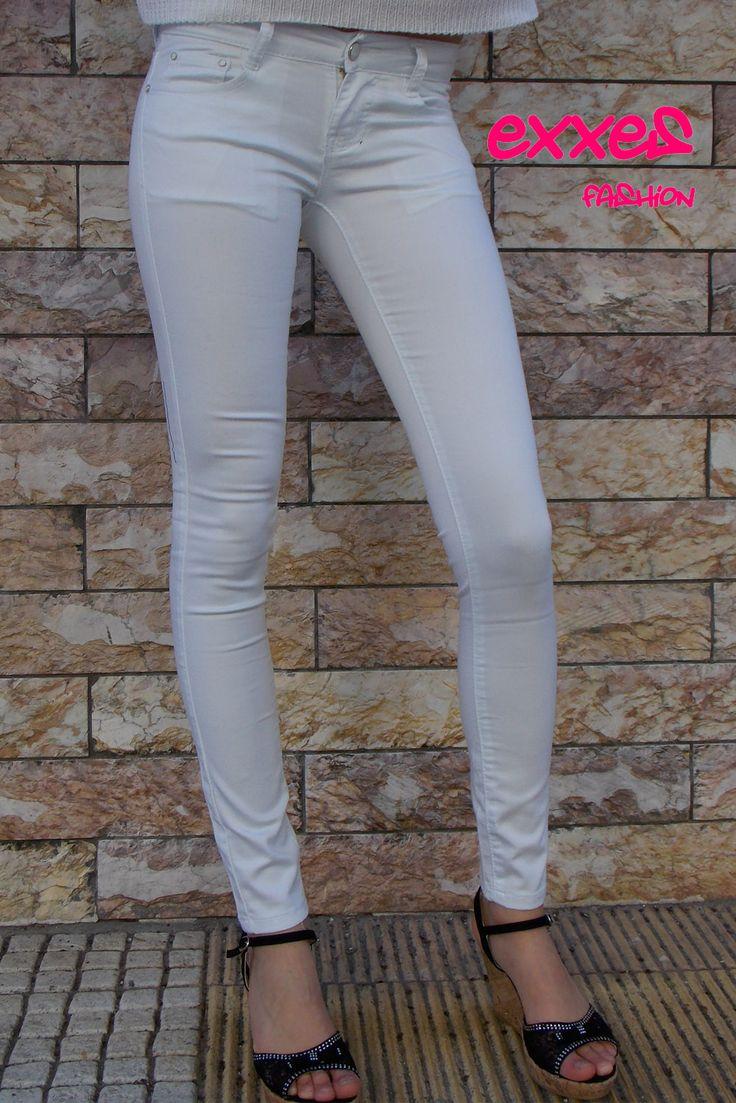 #white #women #pants