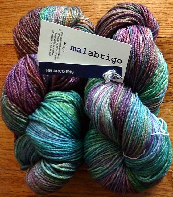 Arco Iris Malbrigo- gorgeous yarn! I NEED to knit something with this!