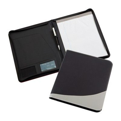 Rio Zippered Folder Min 25 - Conference & Events - Conference Folders - IC-D3201 - Best Value Promotional items including Promotional Merchandise, Printed T shirts, Promotional Mugs, Promotional Clothing and Corporate Gifts from PROMOSXCHAGE - Melbourne, Sydney, Brisbane - Call 1800 PROMOS (776 667)