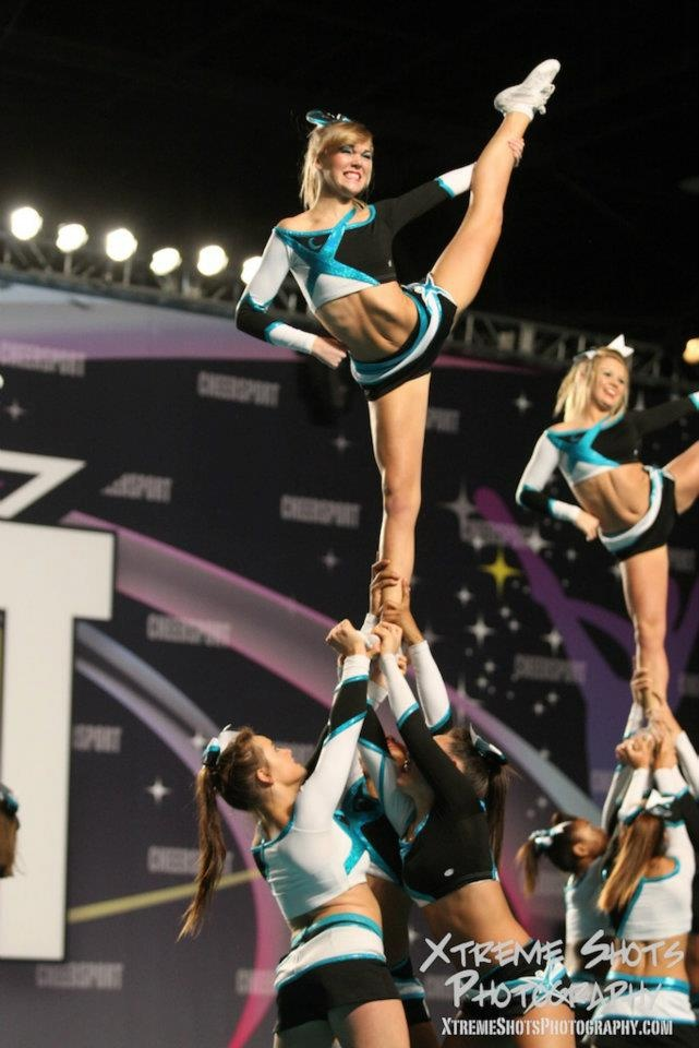 Love this girl. Such an amazing cheerleader. Two time world champion, baby!