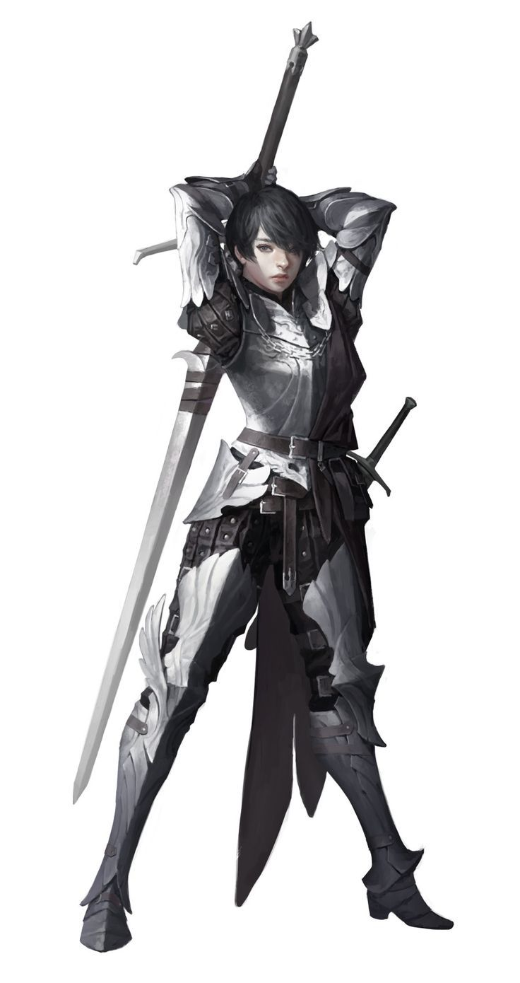 In case anyone still doubted it, yes - it is possible to design a stylized female armor without showing skin or sexualizing the wearer. ~Ozzie