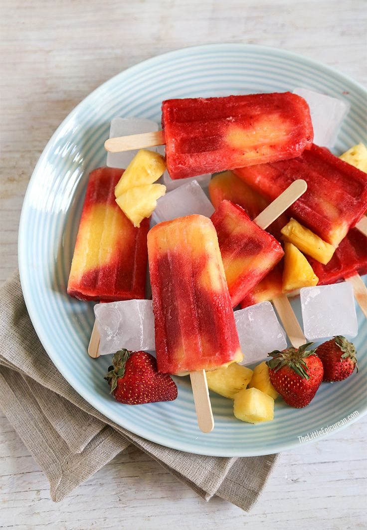 TheLittleEpicurean--strawberry-pineapple-popsicles-